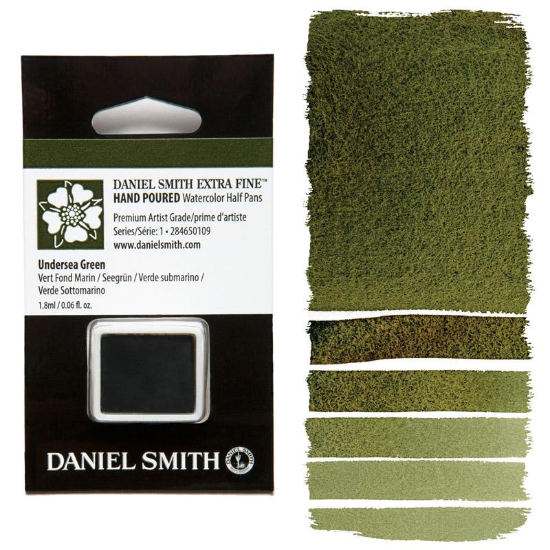 Daniel Smith Watercolor Half Pan - Undersea Green