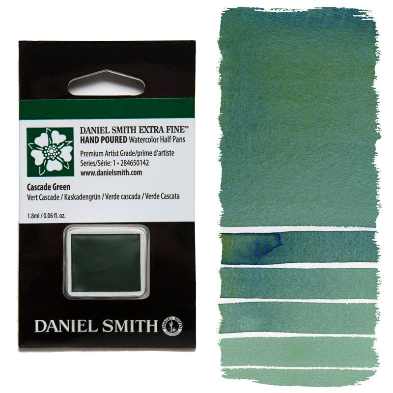 Daniel Smith Watercolor Half Pan - Cascade Green
