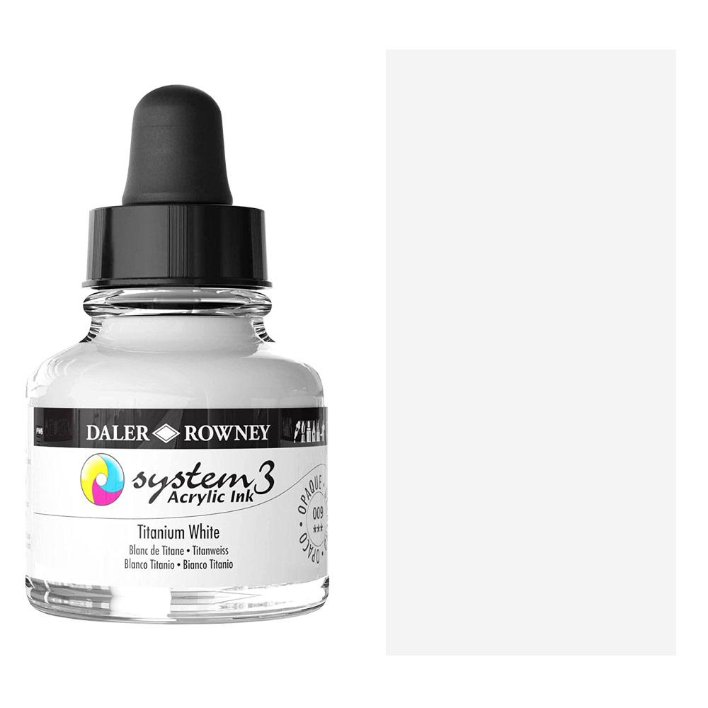 System 3 Ink 29.5ml Titanium White