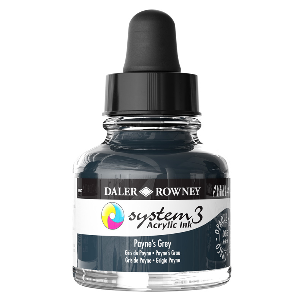 System 3 Ink 29.5ml Payne's Grey