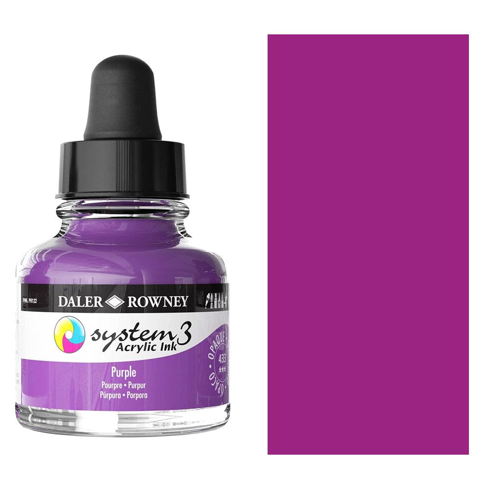 System 3 Ink 29.5ml Purple