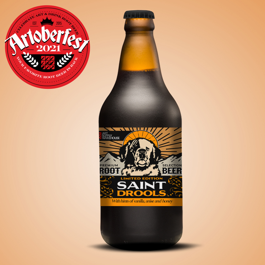 Saint Drools 2020 Limited Edition Root Beer 12oz Bottle
