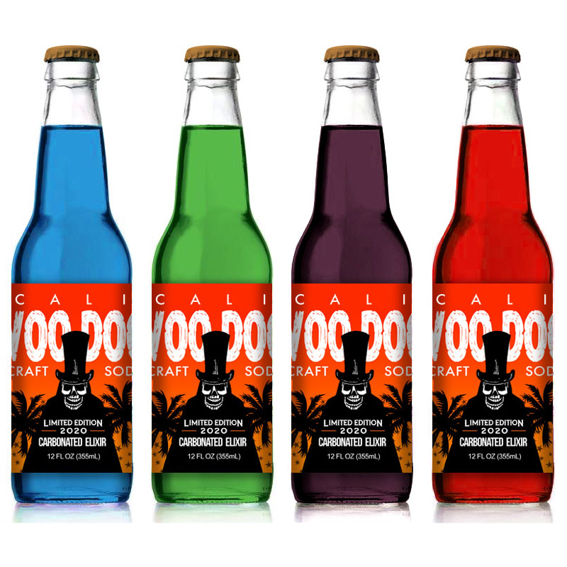Cali Voodoo Craft Soda 12oz