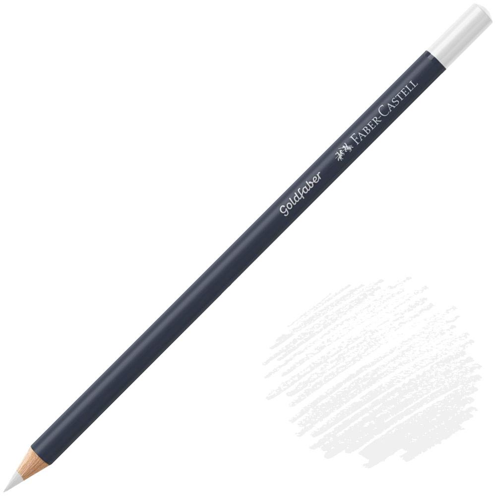 Faber-Castell Goldfaber Color Pencil - White
