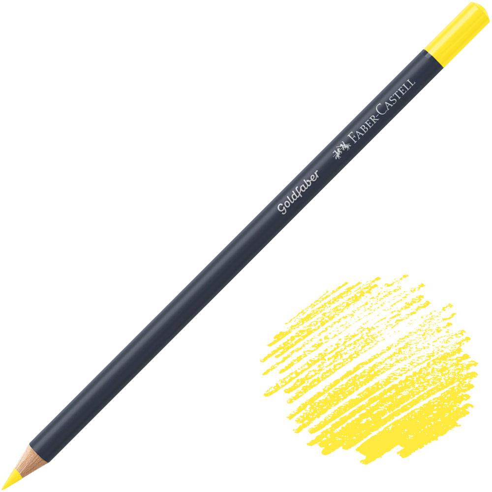 Faber-Castell Goldfaber Color Pencil - Light Cadmium Yellow