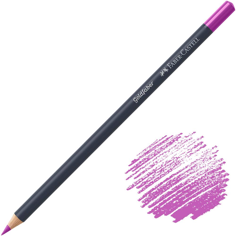 Faber-Castell Goldfaber Color Pencil - Middle Purple Pink