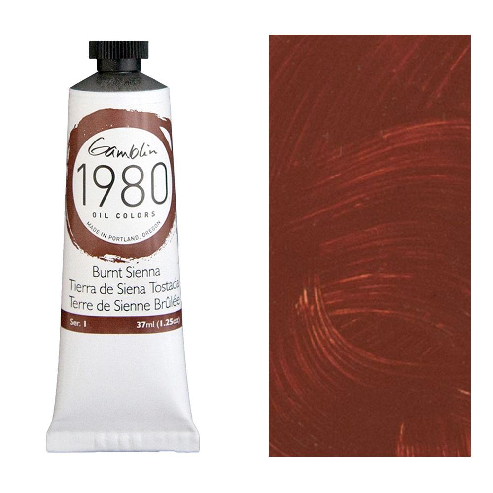 GAMBLIN 1980 37ml BURNT SIENNA