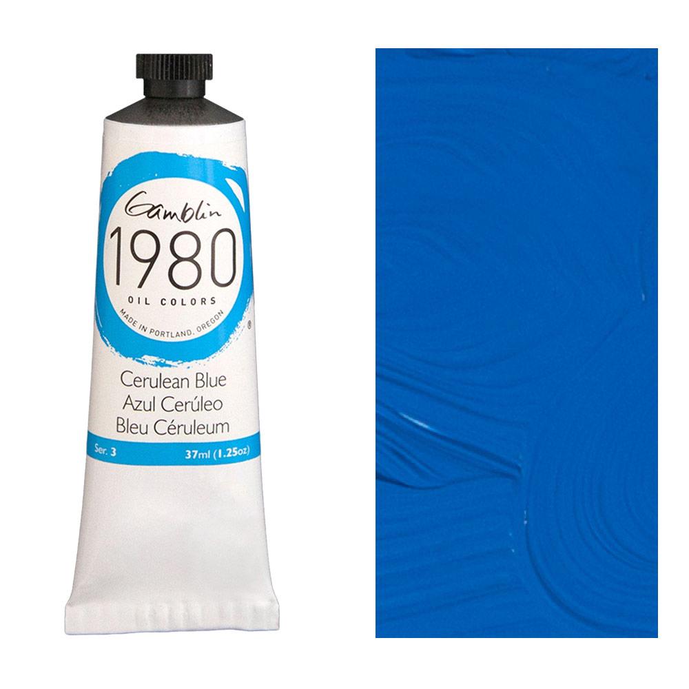 GAMBLIN 1980 37ml CERULEAN BLUE