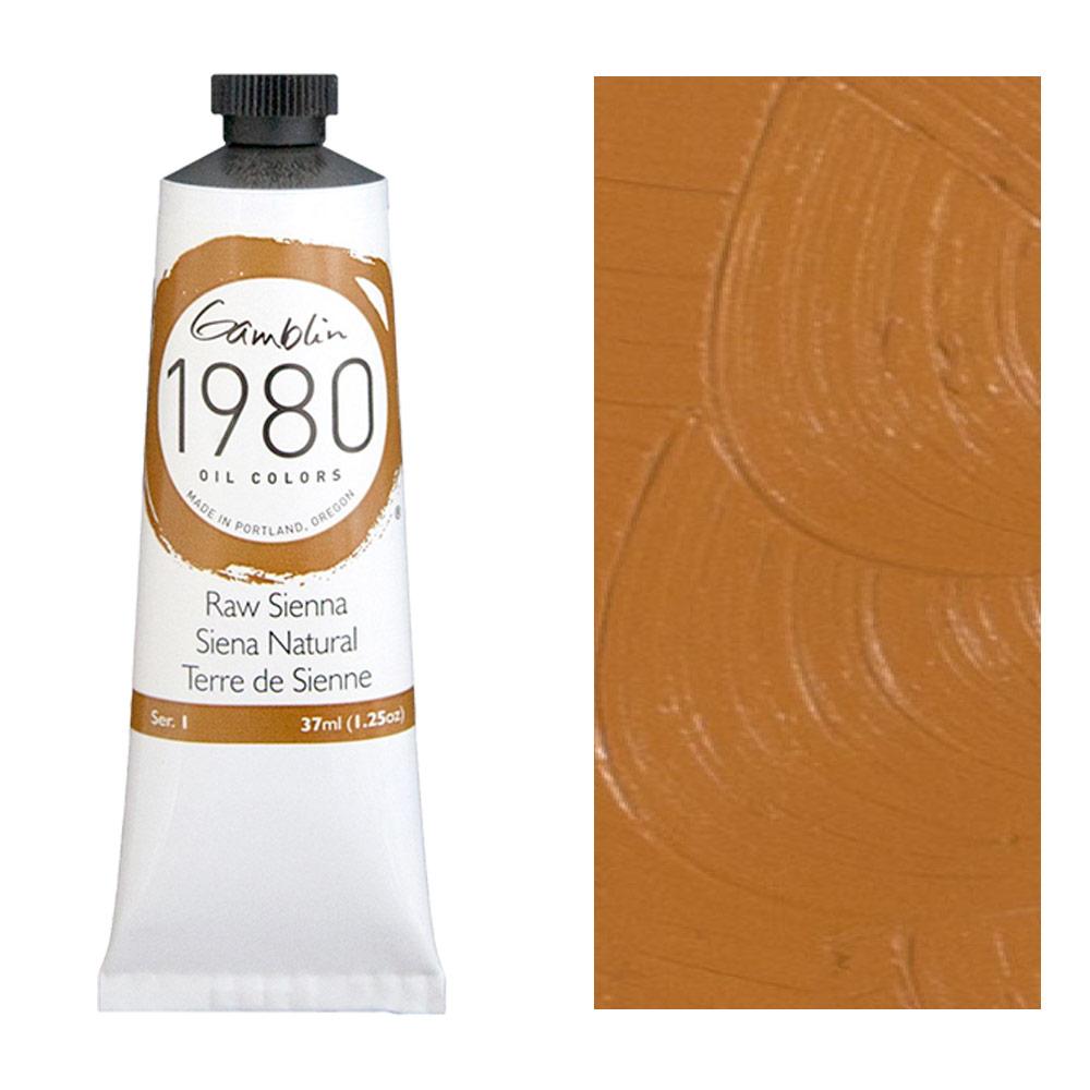 GAMBLIN 1980 37ml RAW SIENNA
