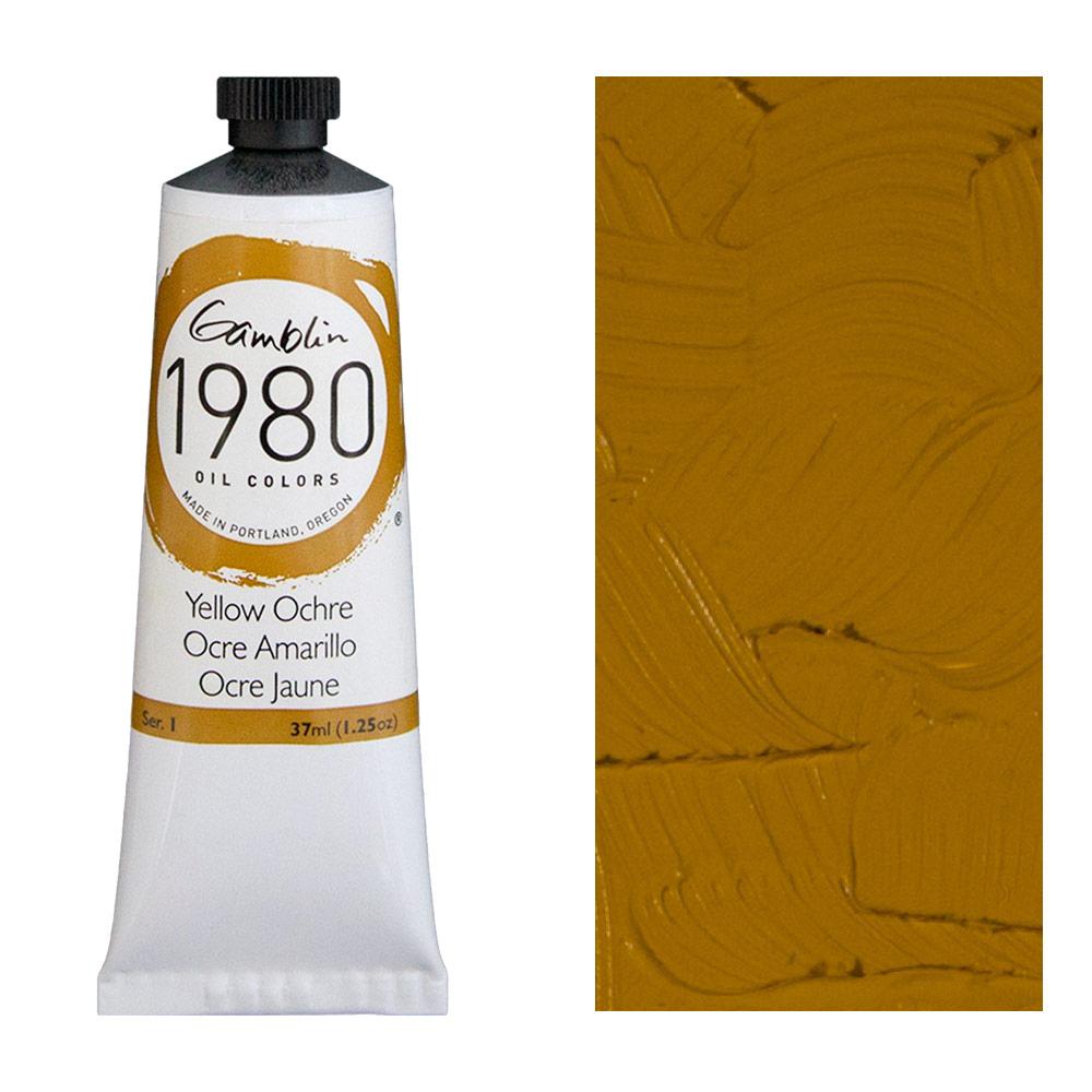 GAMBLIN 1980 37ml YELLOW OCHRE
