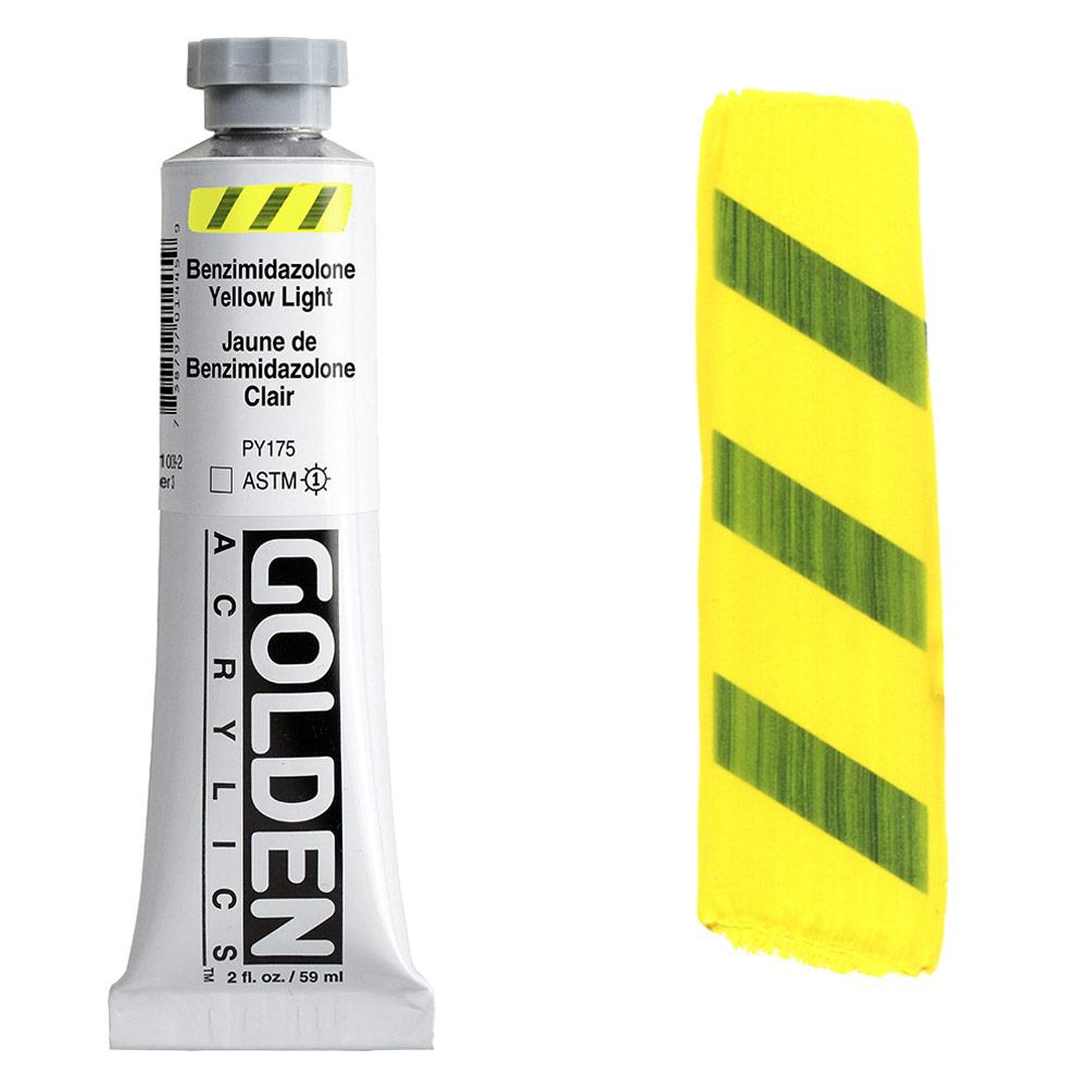 GOLDEN 2oz BENZIM YELLOW LIGHT