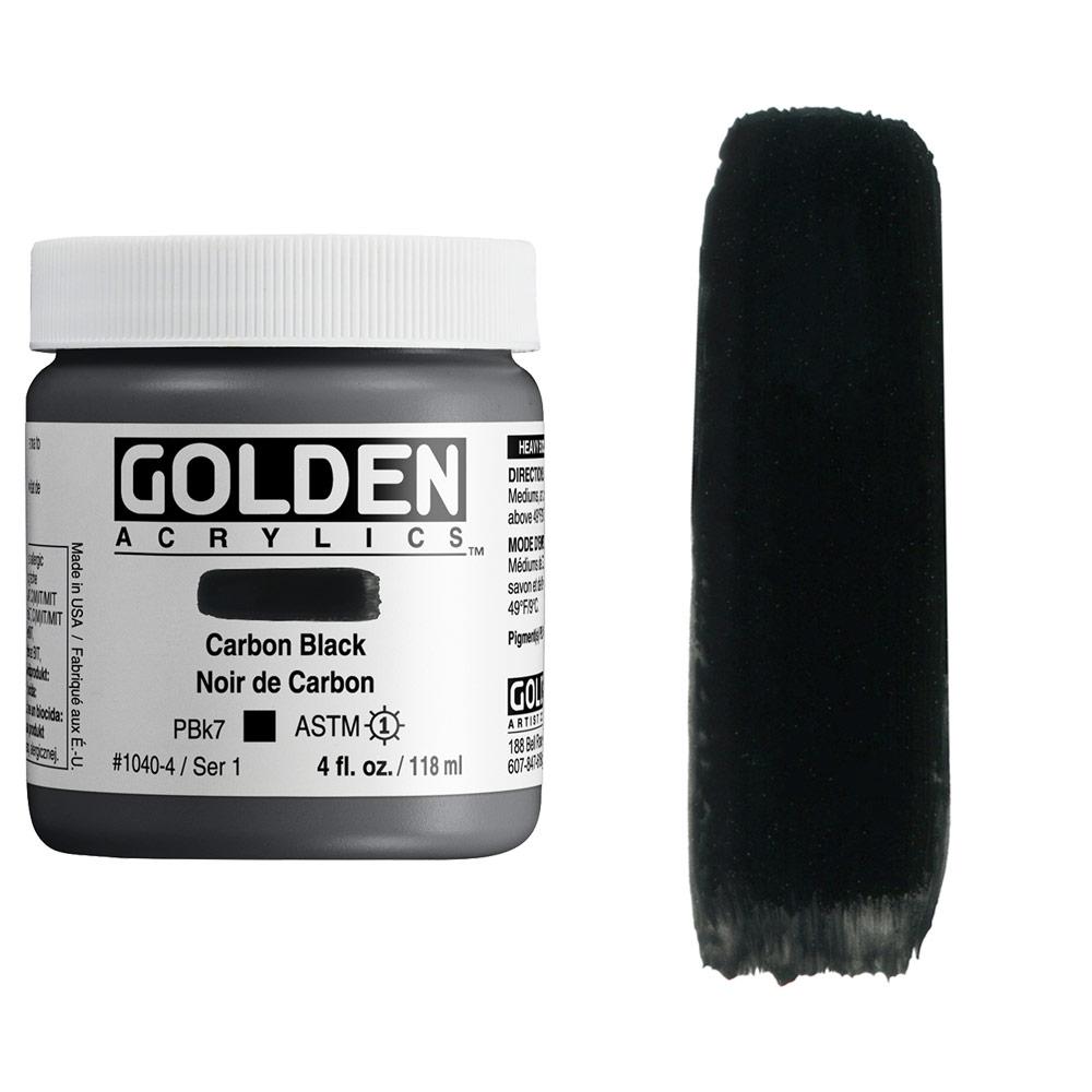 GOLDEN 4oz CARBON BLACK