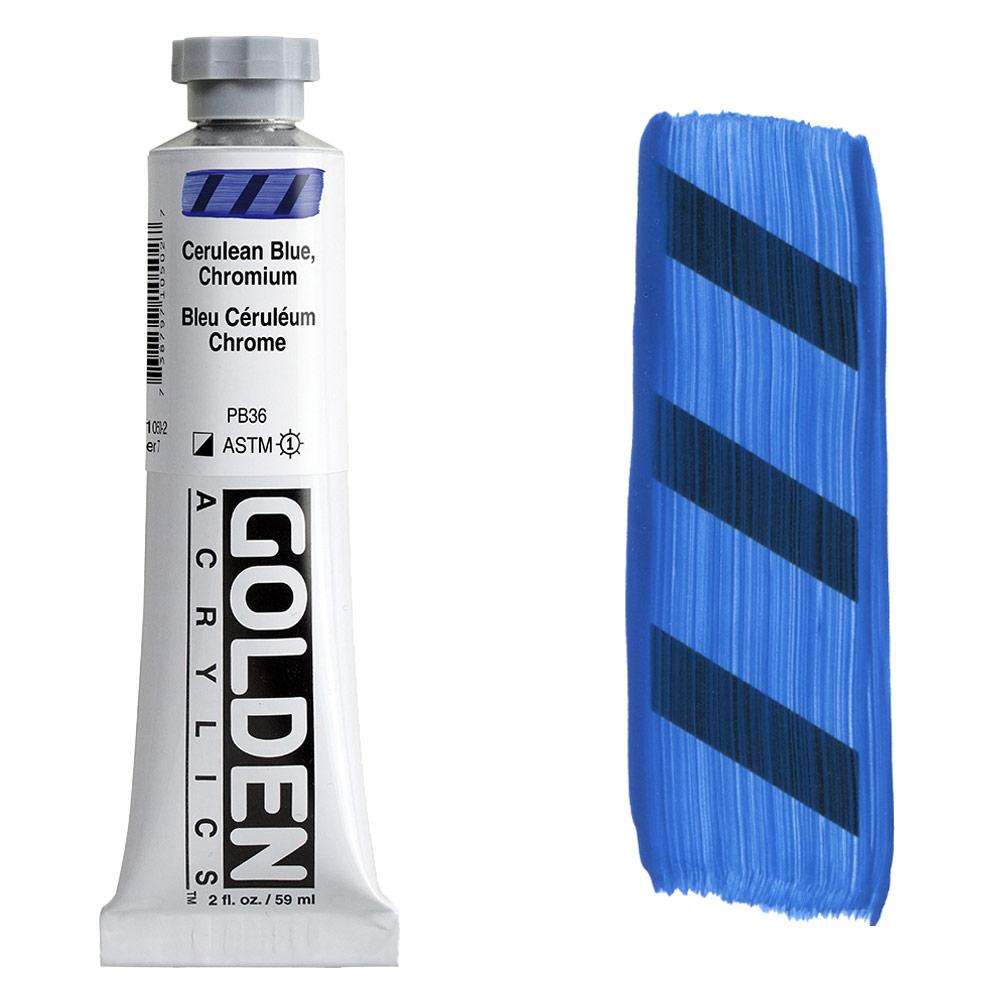 GOLDEN 2oz CERULEAN BLUE CHROM