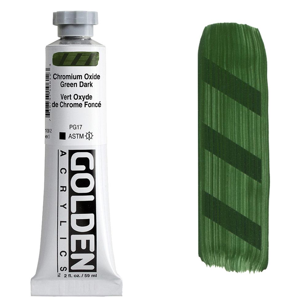 GOLDEN 2oz CHROM OXIDE GREEN DK