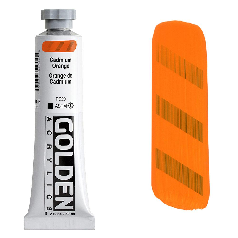 GOLDEN 2oz CP CADMIUM ORANGE