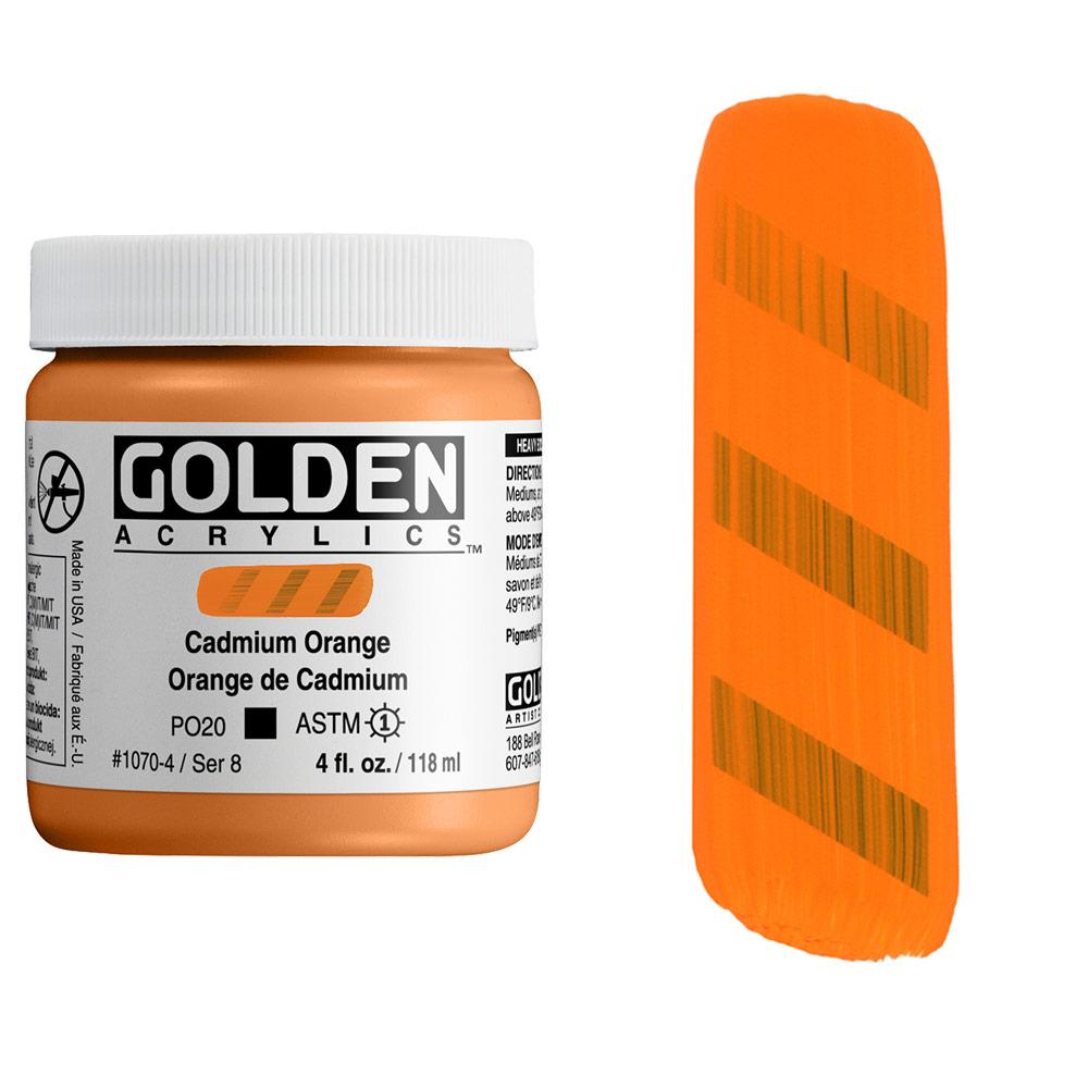 GOLDEN 4oz CP CAD ORANGE