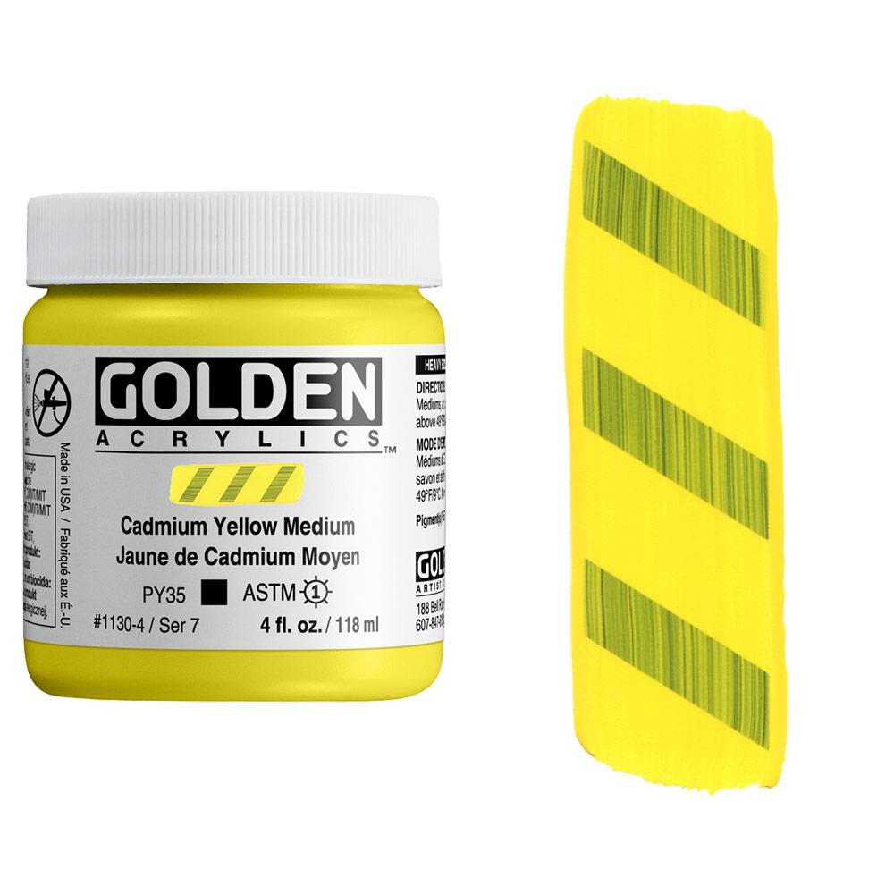 GOLDEN 4oz CP CAD YELLOW MEDIUM