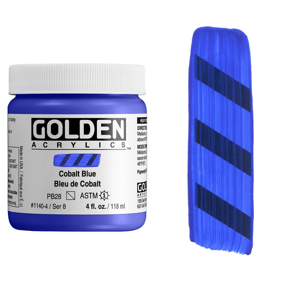 GOLDEN 4oz COBALT BLUE