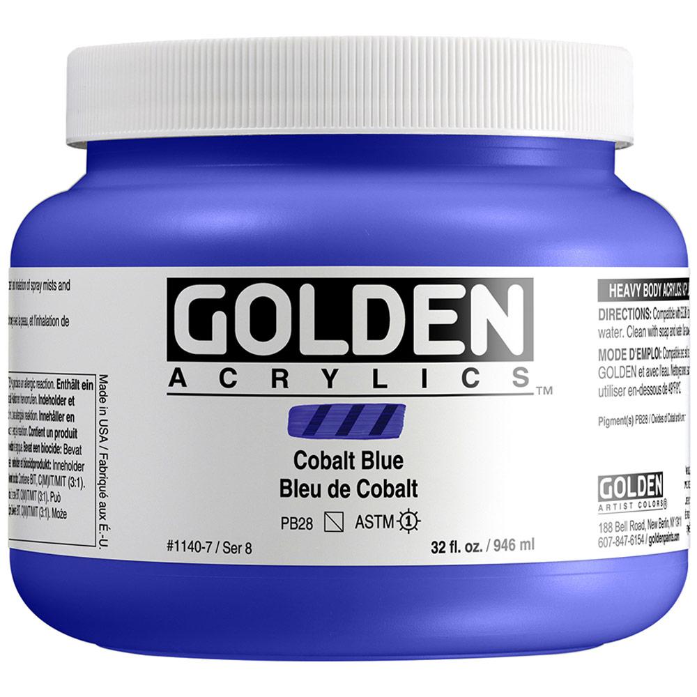 GOLDEN 32oz COBALT BLUE