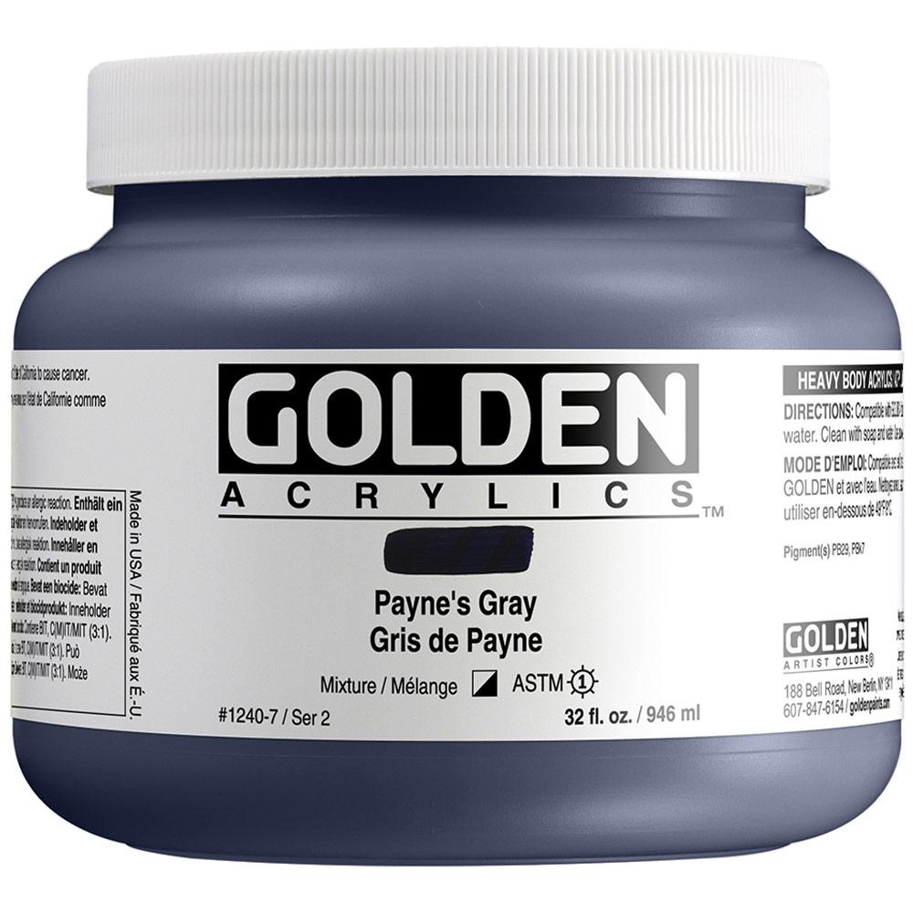 GOLDEN 32oz PAYNES GRAY