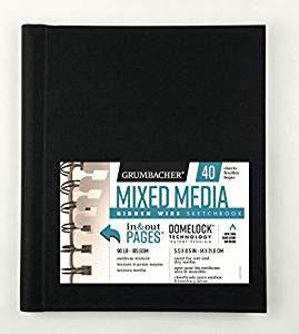 Hidden Wire Mixed Media 5.5x8.5
