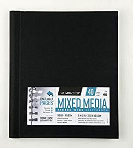 Hidden Wire Mixed Media 9x12