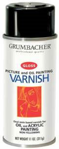 Picture Varnish Gloss Spray Can 12oz