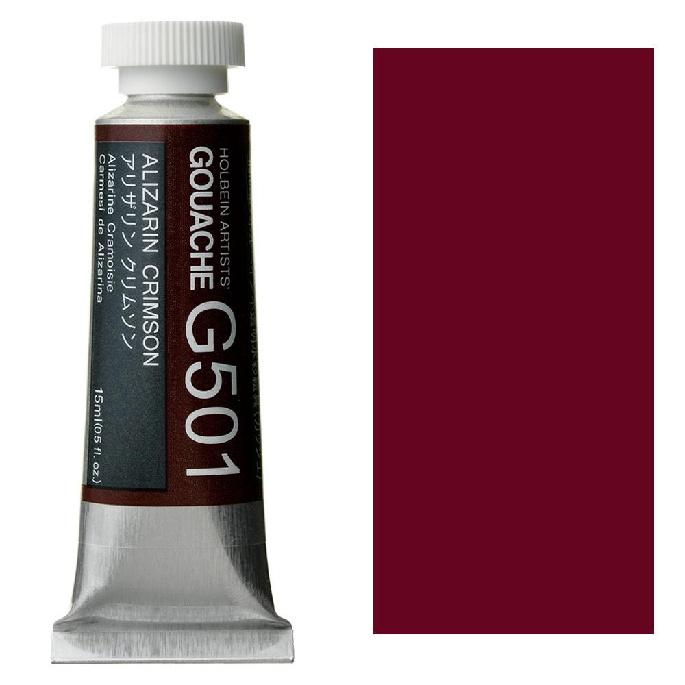 HOLBEIN GOUACHE 15ml ALIZARIN CR