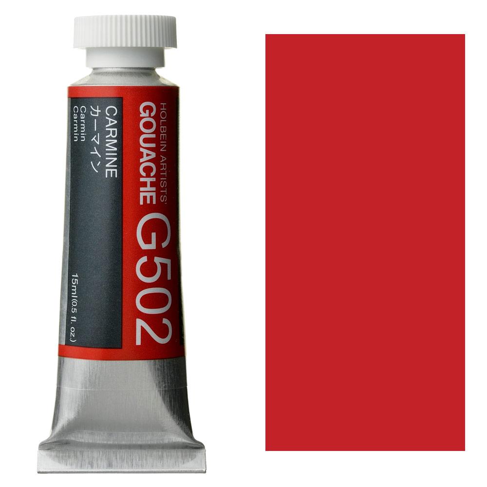 HOLBEIN GOUACHE 15ml CARMINE