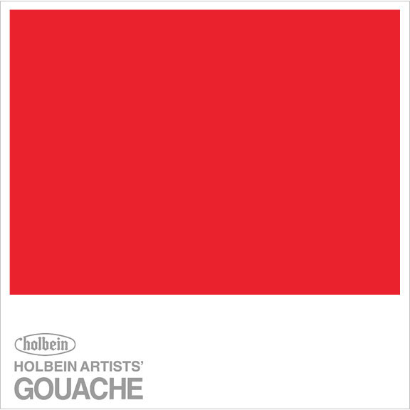 HOLBEIN GOUACHE 15ml FLAME RED