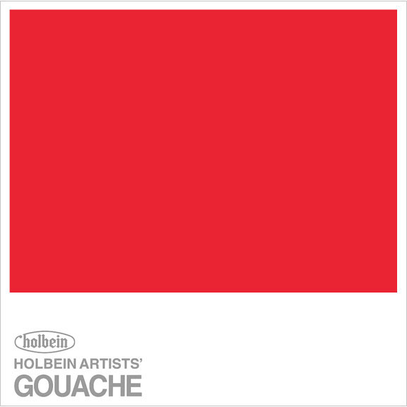 HOLBEIN GOUACHE 15ml PURE RED