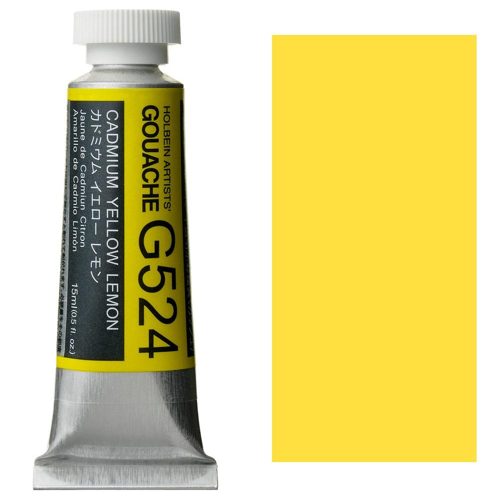 HOLBEIN GOUACHE 15ml CAD YEL LEM