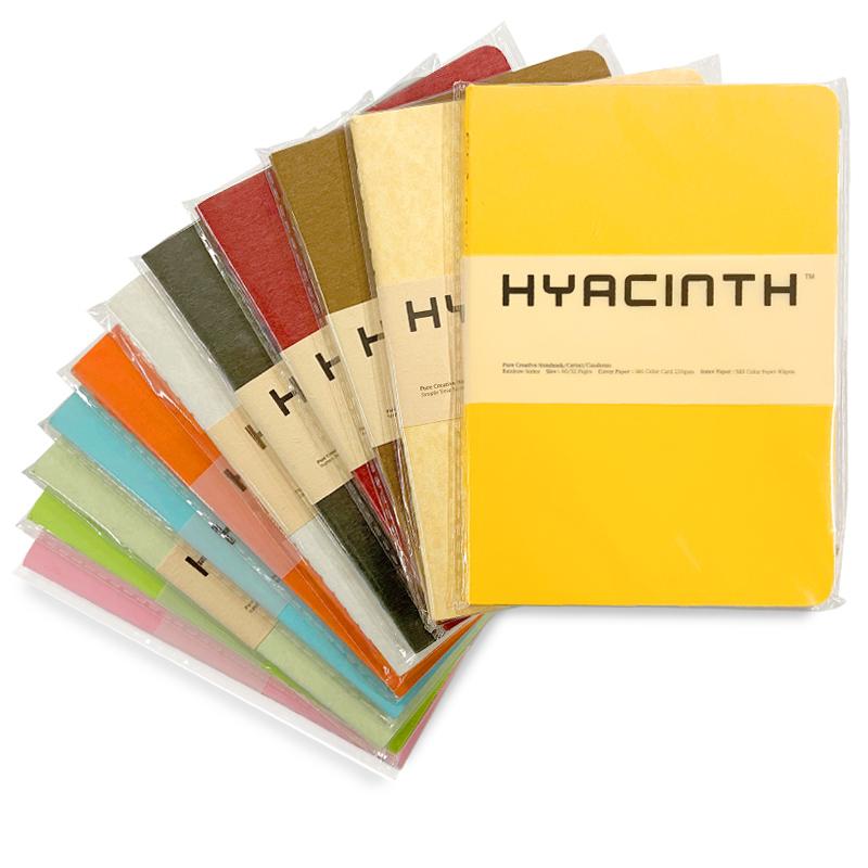Hyacinth Pure Creative Pocket Sketchbook (assorted colors)