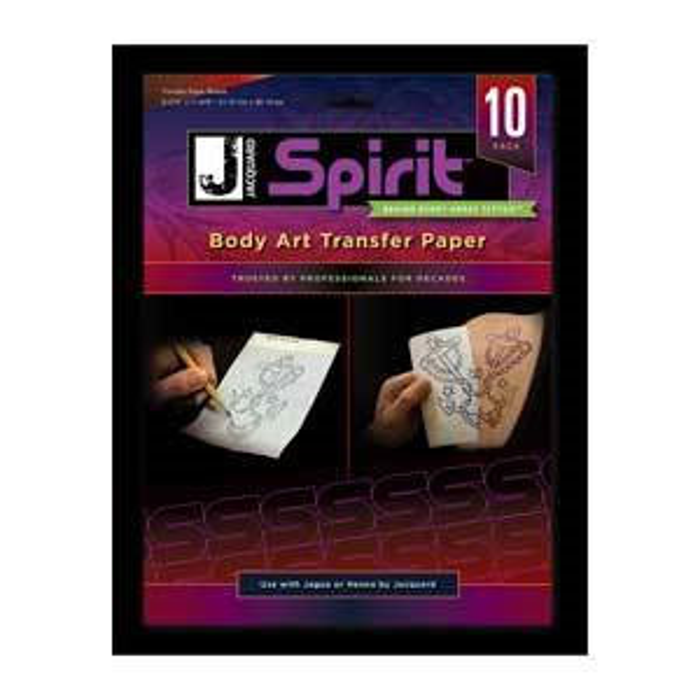Jacquard Body Art Transfer Paper