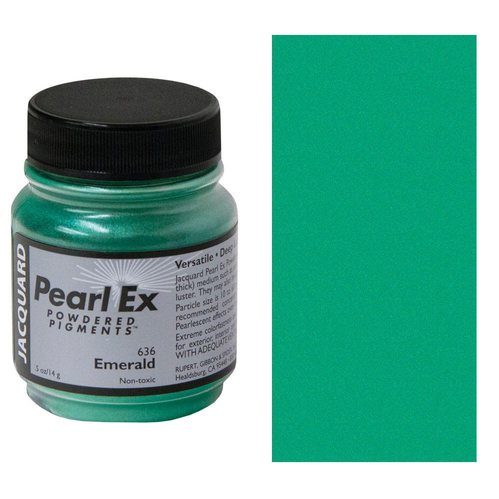 Pearl-ex .5oz Emerald