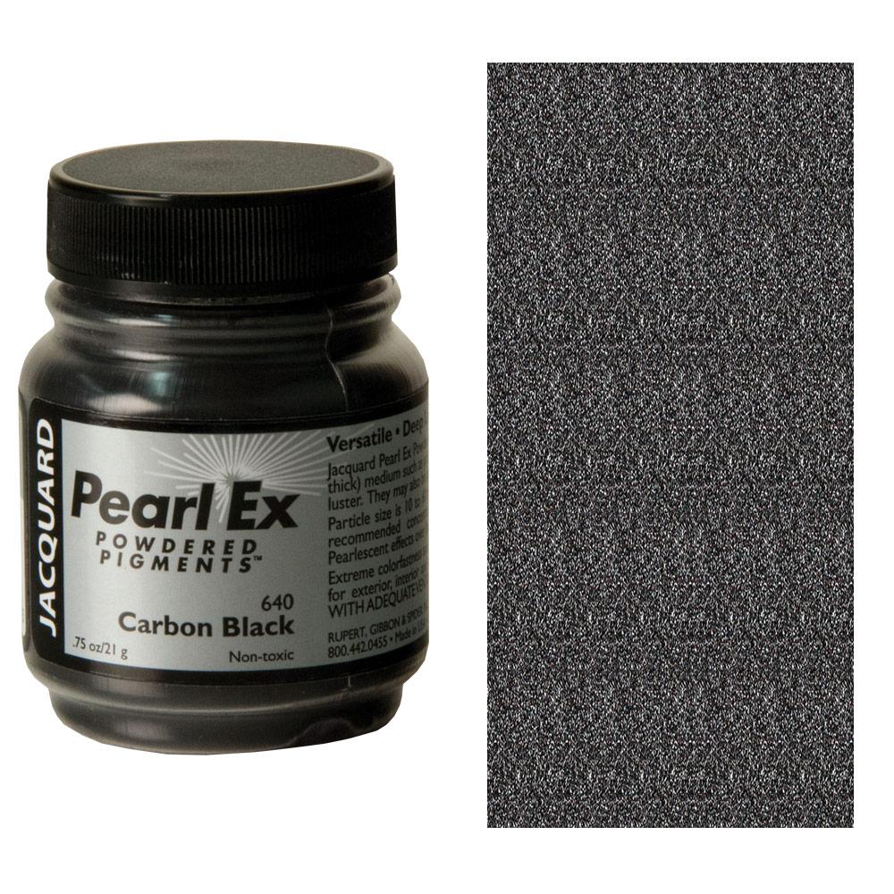 Pearl-Ex Powdered Pigment .75oz - Carbon Black