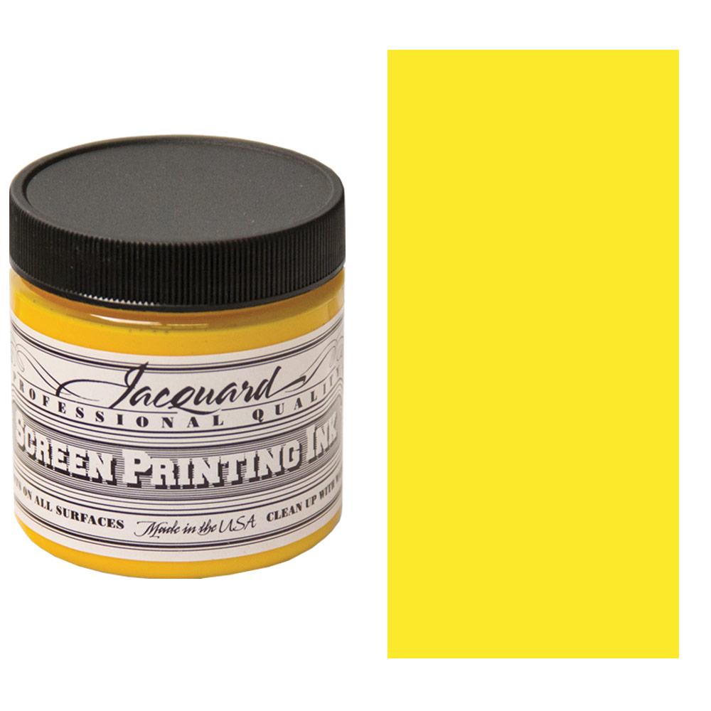 Screen Printing Ink 4oz - Yellow
