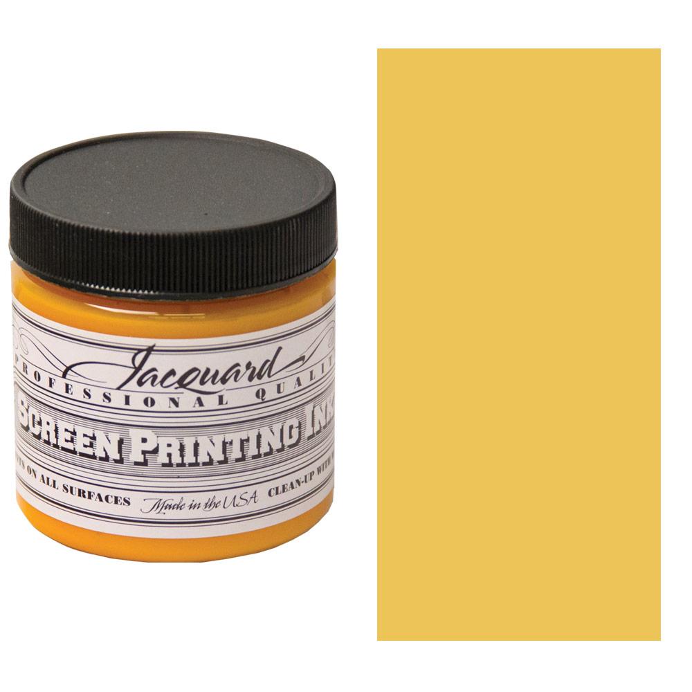 Screen Printing Ink 4oz - Golden Yellow