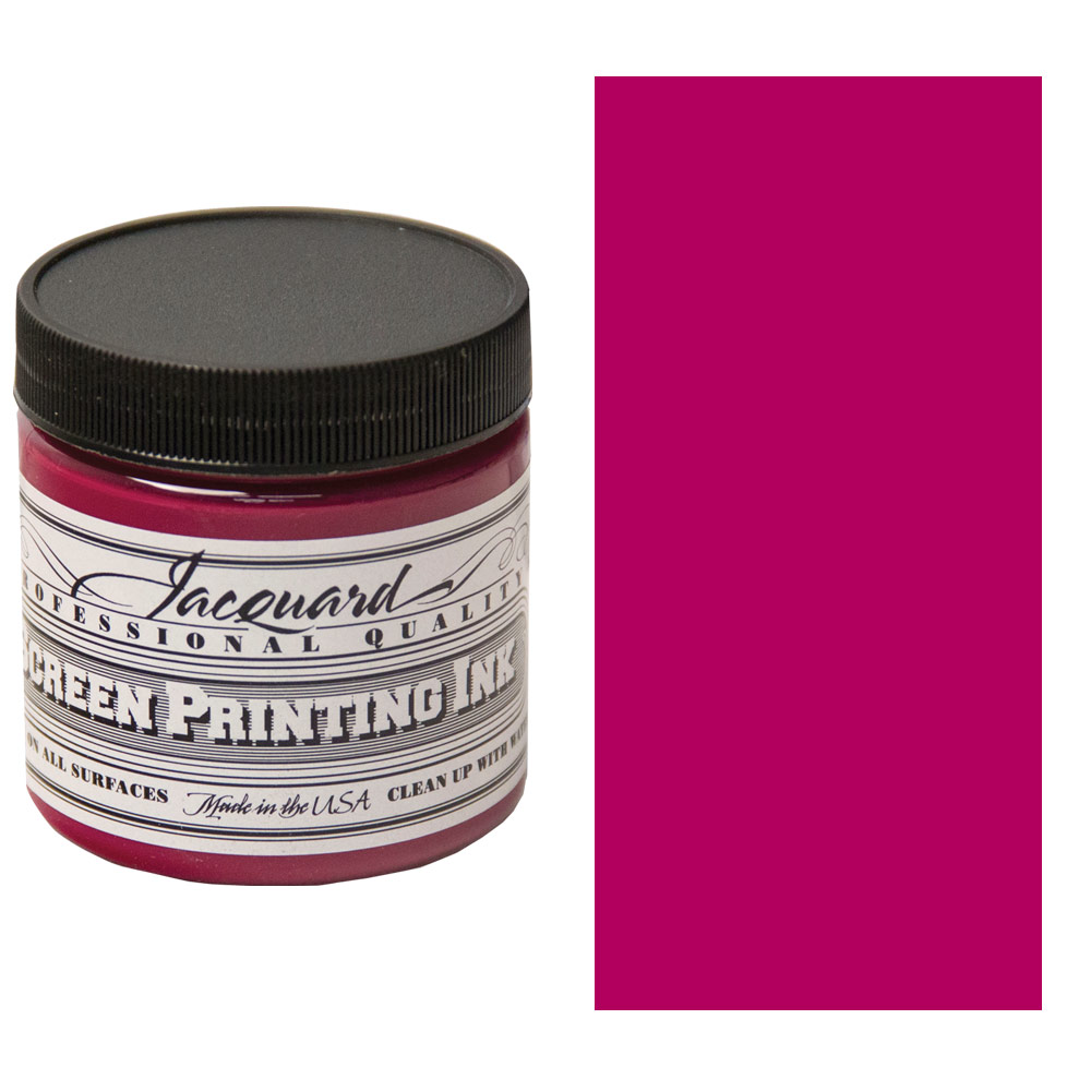 Screen Printing Ink 4oz - Magenta