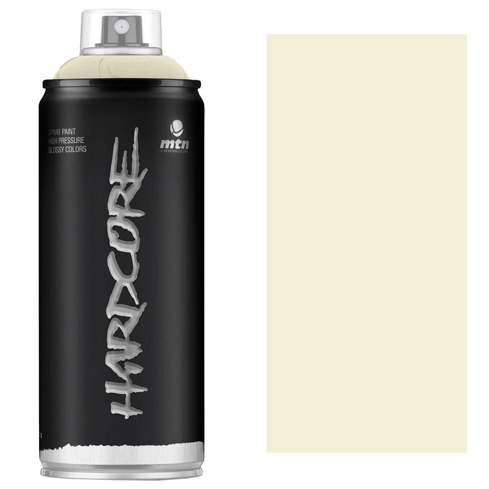 MTN Hardcore Spray Paint 400ml Bone White
