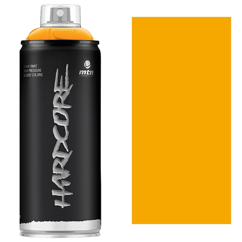 MTN Hardcore Spray Paint 400ml Medium Yellow