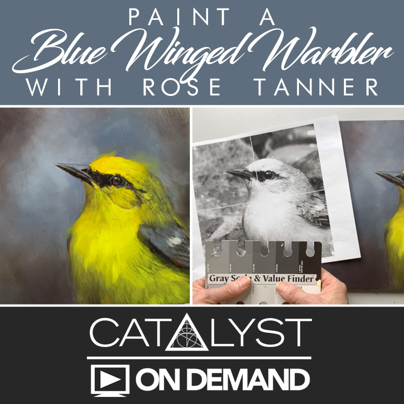 On Demand Class: Paint a Blue Winged Warbler