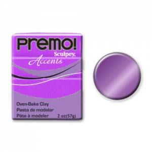 Premo! Accents Polymer Clay 2oz - Purple Pearl