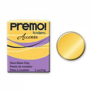 Premo! Accents Polymer Clay 2oz - 18K Gold