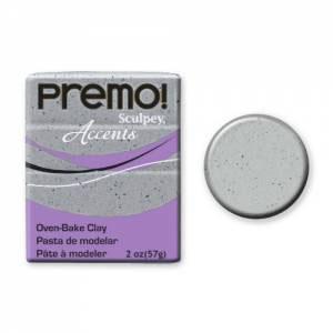 Premo! Accents Polymer Clay 2oz - Gray Granite