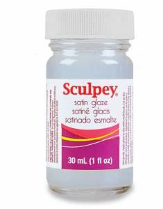 Sculpey Satin Glaze - 1oz
