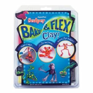 Sculpey Polymer Clay Super Flex Sampler 16 oz. 8-Color Pack