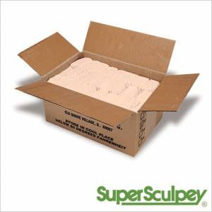 Super Sculpey 24lb Box - Beige