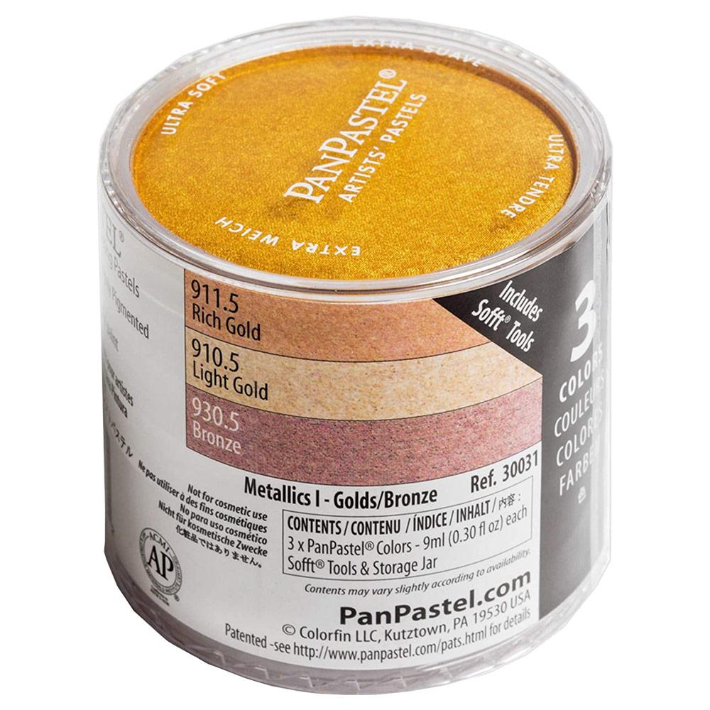 Panpastel Metallic I 3-set
