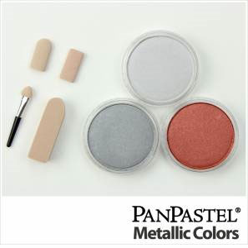 Panpastel Metallic Ii 3-set